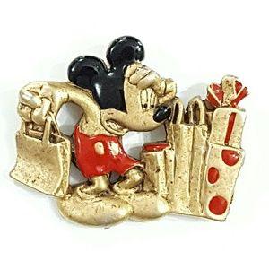 Vintage AAi Disney Mickey Mouse Brooch Pin J3